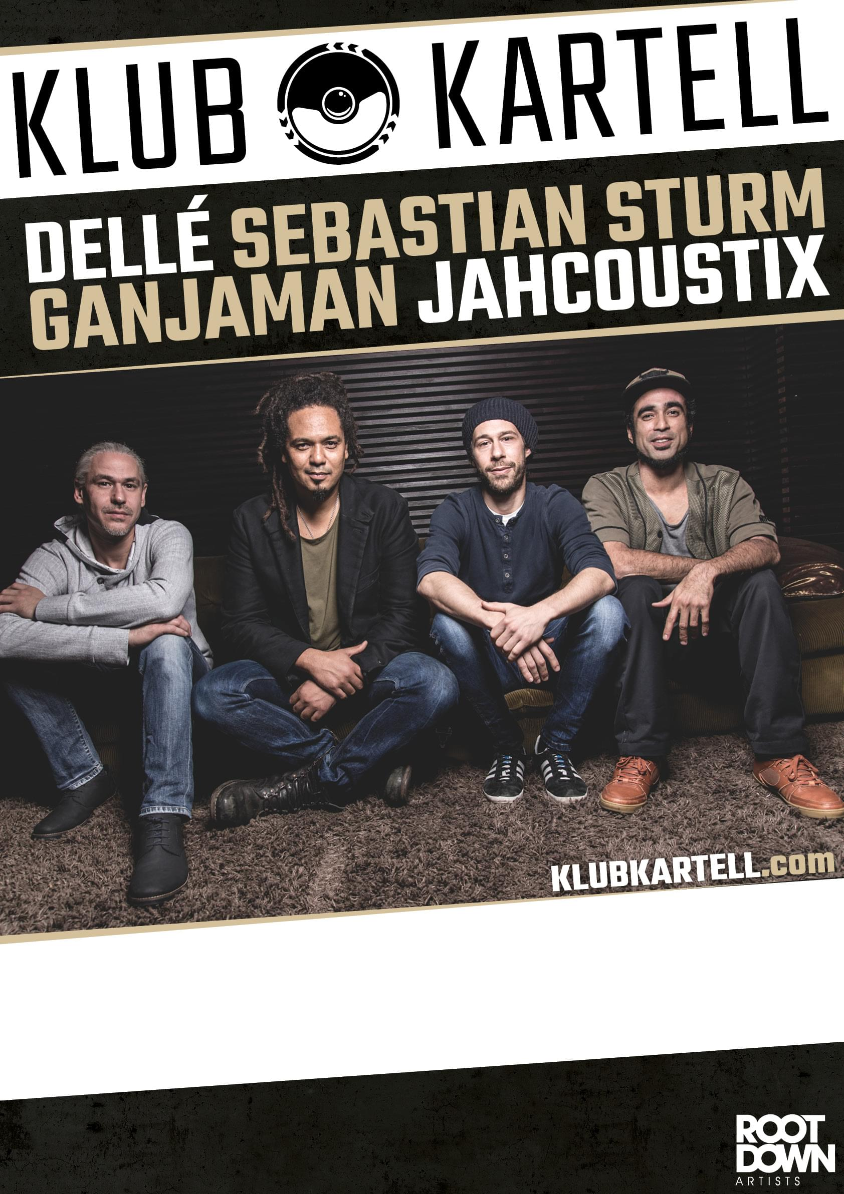 Dellé Seeed Ganjaman Jahcoustix Sebastian Sturm Klub
